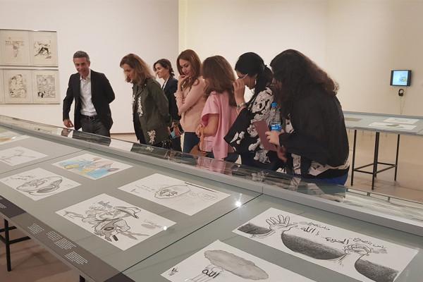 Pierre Sadek's Exhibition