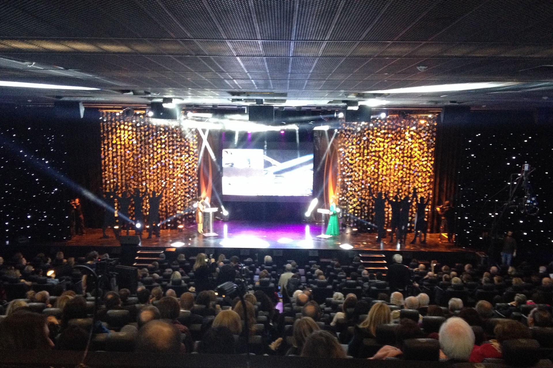 Awards Ceremony in Paris