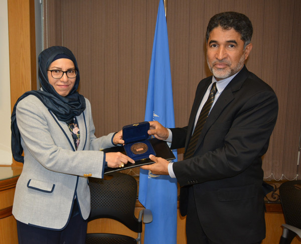 Samar Al-Hamoud awarded the World Health Organization prize