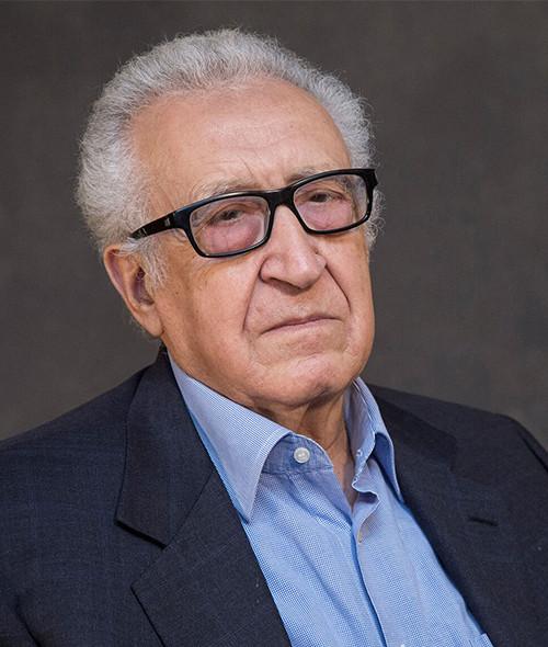HE Dr. Lakhdar Brahimi