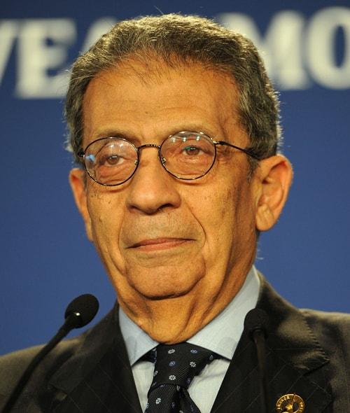 HE Dr. Amre Moussa