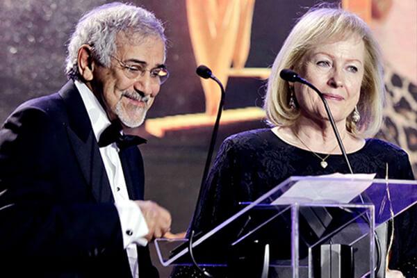 Dr. Hilal and Mrs. Margaret Al Sayer