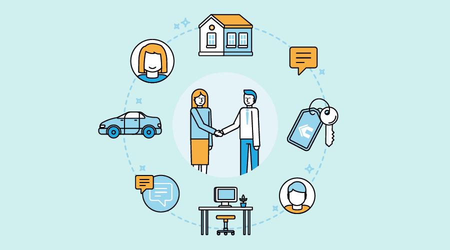 Sharing economy ovvero l'economia della fiducia