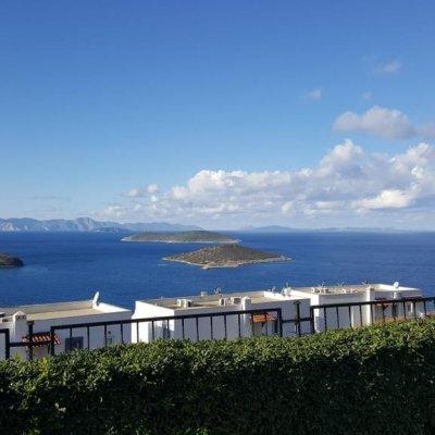 Yalıkavak'ta  Deniz Manzaralı  Müstakil Villa