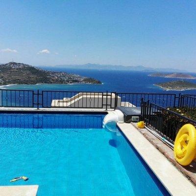Site İçinde 3+1 Özel Havuzlu Deniz Manzaralı Villa Ln 7...