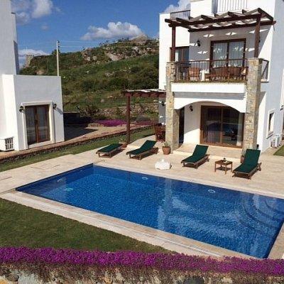 2020 Yalıkavak Gerişte Özel Havuzlu Site İçerisinde 3 Yatak Odalı  Villa (ole)