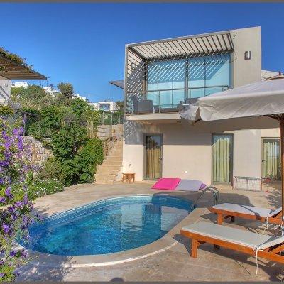 2020 Sezonda Yalıkavakta Özel Havuzlu Site İçinde Müstakil Villa (ahi2)