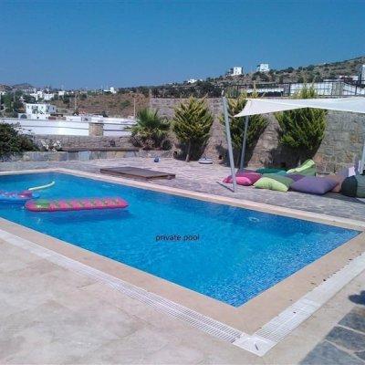 2020 Sezonda Gündoğan Merkezde Site İçerisinde Özel Havuzlu Villa  Af5