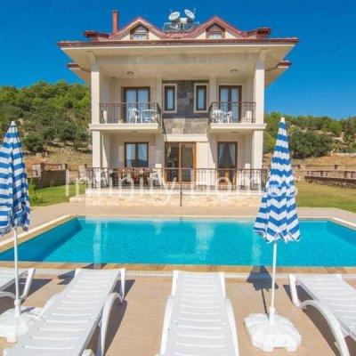 Fethiye Ovacık'ta Müstakil Havuzlu Villa...