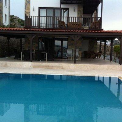 Gündoğan Merkeze Yürüme Mesafesinde Müstakil Havuzlu Villa Afr7