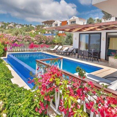 6 Kişilik Özel Havuzlu Denize Yakın Lüks Villa (queen Duo)