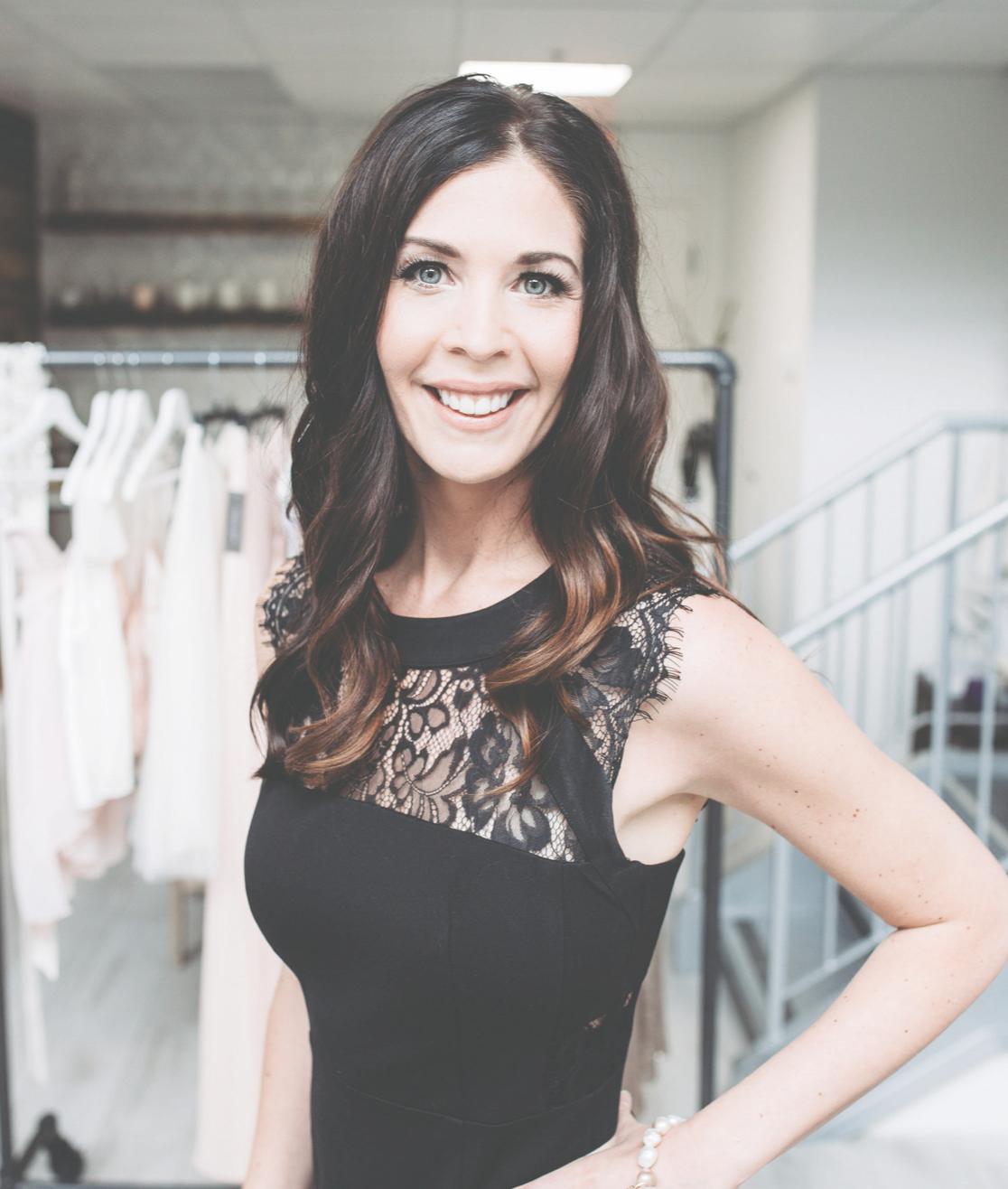 blush & raven bridal boutique boutique team photo
