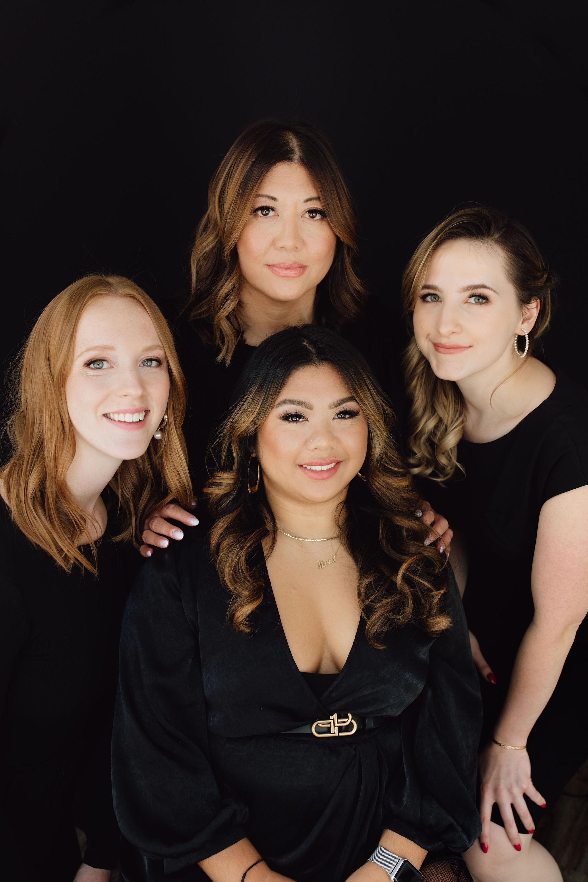 revelle bridal boutique team photo