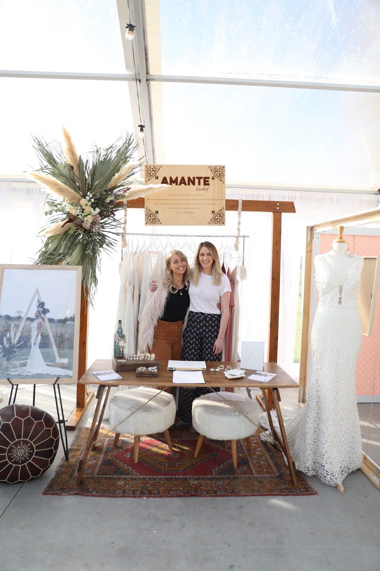 amante bridal boutique team photo