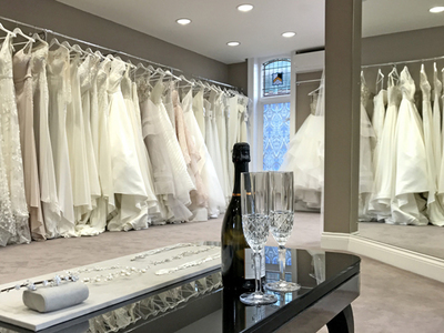 allum & sidaway bridal photo 2