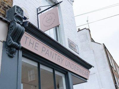 the pantry bridalwear photo