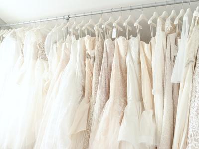 white satin bridal boutique photo 2