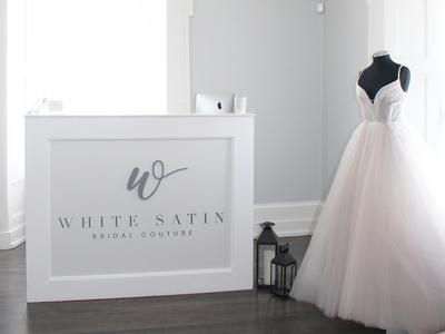 white satin bridal boutique photo 1
