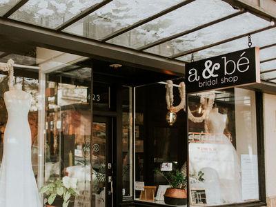 a&be bridal shop | seattle photo 3