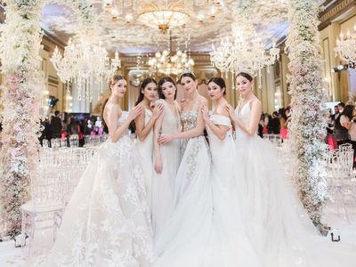 bisou bridal photo