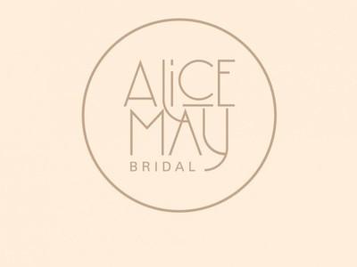 alice may bridal photo