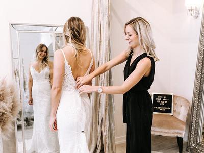 blush & raven bridal boutique photo 1