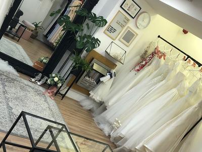 the bottom drawer bridal photo