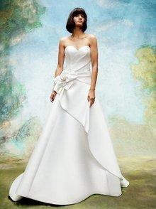 wild rose draped gown  dress photo 1