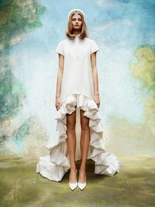 dramatic high low shirt dress  dress photo 1
