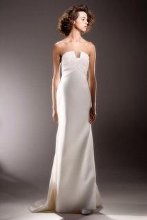 sculptural wrap drape  dress photo 1