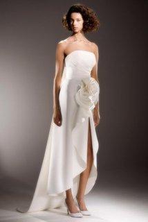 draped rose column  dress photo 1