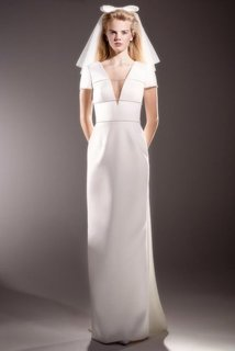 immaculate bow back column  dress photo 1