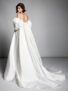 rose sleeve empire gown  dress photo 1