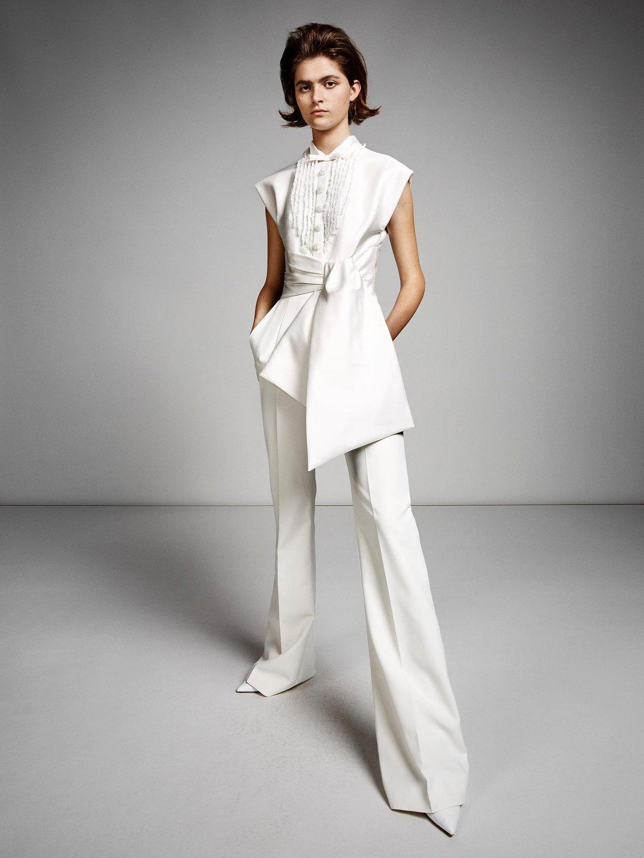 tuxedo pantsuit  dress photo