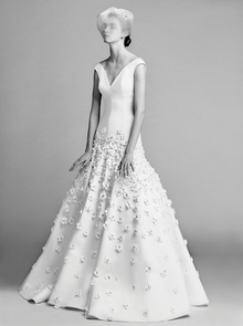 flower blossom gown  dress photo 1