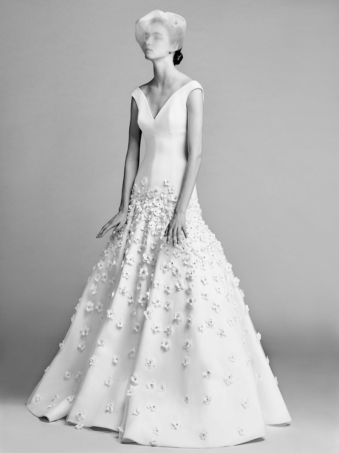 flower blossom gown  dress photo