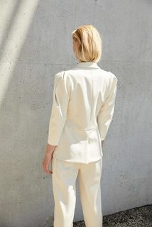 renee blazer dress photo 2