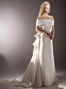 back drape gown  dress photo 2