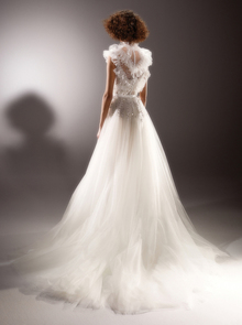 immaculate ethereal tulle gown  dress photo 2