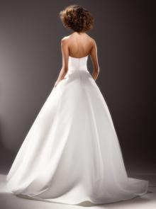 sculptural sash drape gown  dress photo 2