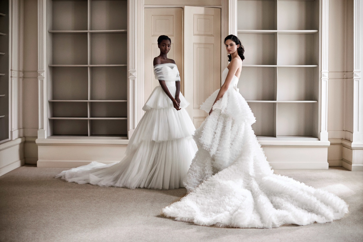 tulle dream tiered gown  dress photo