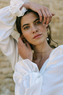 rose dress photo 4