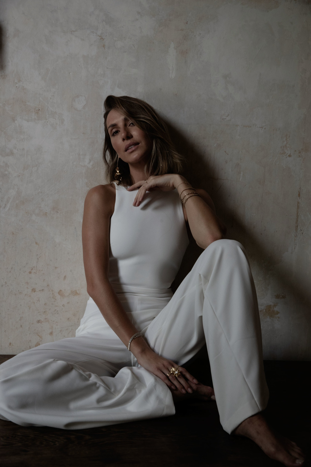 bardot jumpsuit dress photo