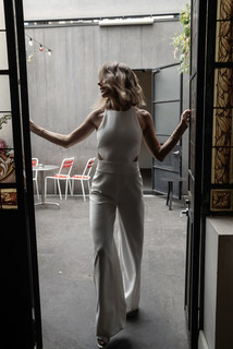 bardot jumpsuit dress photo 2