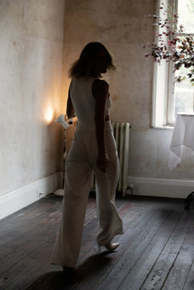 bardot jumpsuit dress photo 4