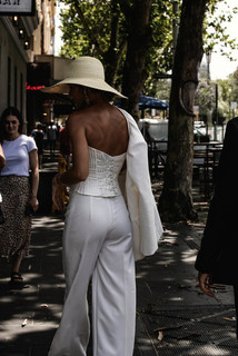 danielle pant dress photo 1