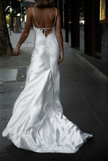 sage dress photo 3