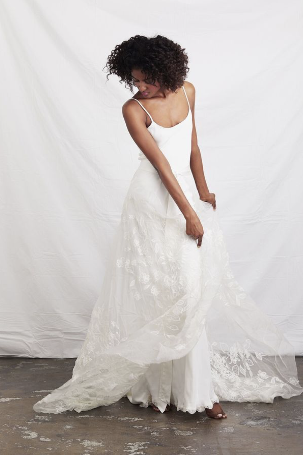 flora wrap skirt dress photo