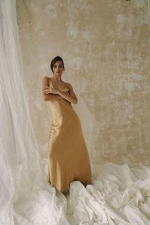 golden juliette dress photo 3