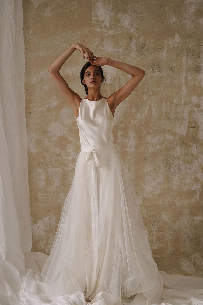 tallulah over skirt dress photo